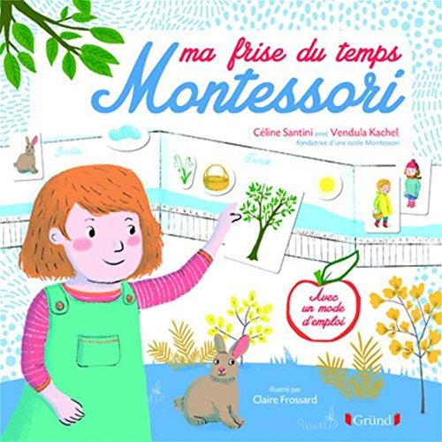 Ma frise du temps Montessori par Céline SANTINI