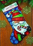 Dimensiones Manualidades 71–09154Cruz Sweet calcetín de Papá Noel en Aguja