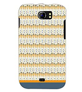 PrintDhaba Owl Pattern D-1669 Back Case Cover for MICROMAX A110Q CANVAS 2 PLUS (Multi-Coloured)
