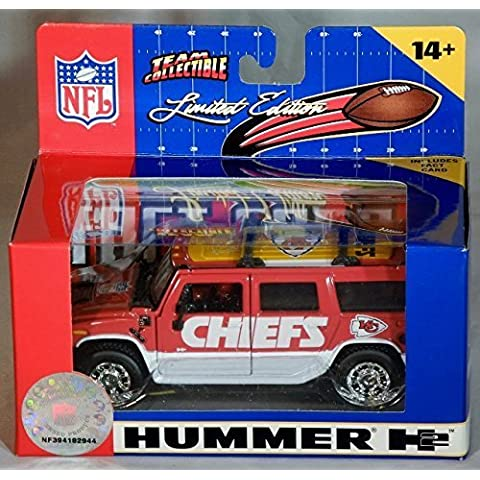 2005 Kansas City Chiefs H2 Hummer 1/43 by NFL by NFL
