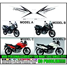 Kit adesivi decal stikers SUZUKI V-STROM DL 650 2009 (ability to customize the colors)