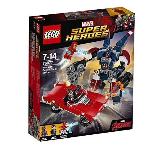 Lego - 76077 - Super Heroes - Iron Man: l'attacco di Detroit Steel