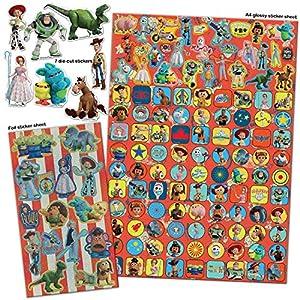 Paper Projects 9124103 Toy Story 4 Mega Paquete de Pegatinas, Varios