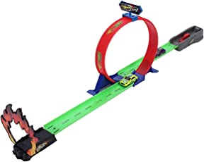 Fantasy Assemble 360 Hot Speed Powerful Spin Loop Way Racing Inertia Power Car with 1 Vehicles (Multicolour)