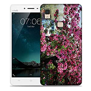 Snoogg Bunch Of Flowers Designer Protective Phone Back Case Cover For Vivo V3 Max
