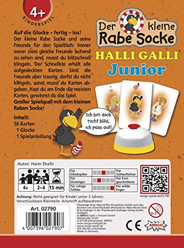 Amigo-02790-Rabe-Socke-Halli-Galli-Junior