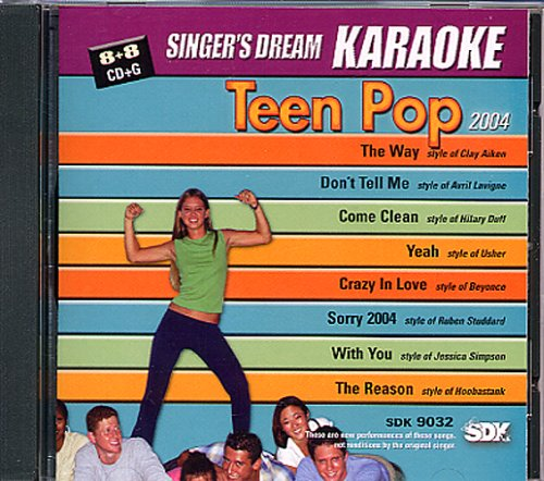 cdg-karaoke-singers-dream-teen-pop-vol-01-livret-paroles-inclus