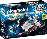 PLAYMOBIL 9003 - Skyjet mit Dr X und Roboter