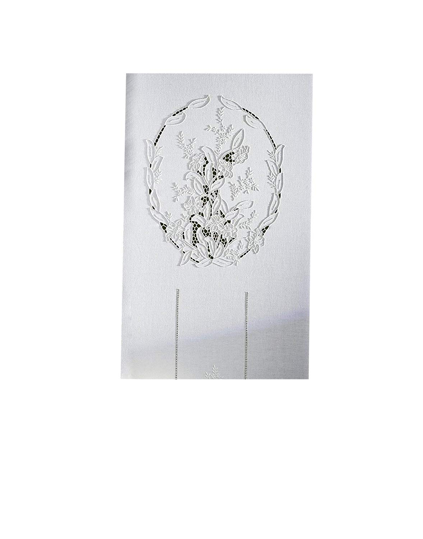 Tende Misto Lino Ricamate.Zenoni Colombi Coppia Di Tende Ricamate A Mano Odessa Made In Italy Misto Lino Varie Dimensioni 45x180 Casame