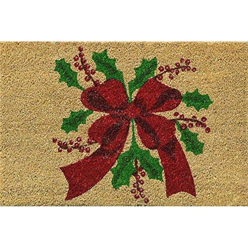 Verdemax 5457rechteckig Weihnachten Blume Design Fußmatte, 40 x 60 cm