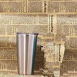 SUNHAO tazza in acciaio inox 16oz doppio in acciaio inox di corno Beer Cup tazzina quotidiana necessità auto isolamento caffè