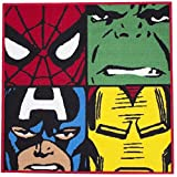 Marvel Comics Defenders Teppich/Matte, Spiderman/Hulk / Captain America/Iron Man