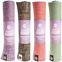 Tapis de Yoga Sternitz-fibres ECO de jute et PVC.