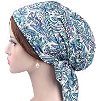 Sombrero Mujer Invierno Elegante ❄ Sonnena Sombrero de Mujer Retro Country Garden Sombrero de Arco de impresión Sombrero de ala de Turbante Tapa de Pila