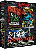 The Evil Of Frankenstein + The Curse Of Frankenstein + The Brides Of Dracula (Region B) Hammer Box