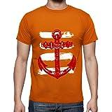 tostadora - T-Shirt Disegno Ancoraggio Ruggine e - Uomo
