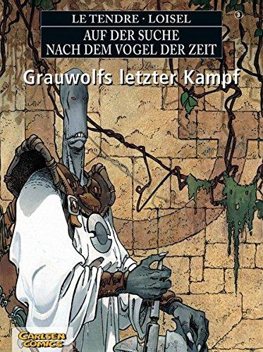 Auf der Suche nach dem Vogel der Zeit, Kt, Bd.3, Grauwolfs letzter - Vögel Artwork