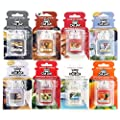 3 x Assorted Official Yankee Candle Car Jar Ultimate Air Fresheners by My Planet Yankee Candle