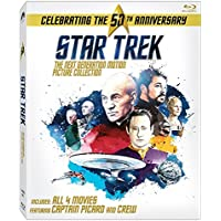 Star Trek: 50th Anniversary The Next Generation Motion Picture Collection Blu-ray 2016 Region free