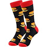Men's Dress Cool Colorful Socks, Men's Fun Dress Socks Fancy Novelty Funny Casual Combed Cotton Crew Patterned Office Socks P