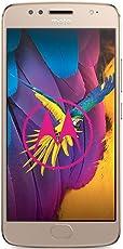 Motorola Moto G5S Smartphone (13,2 cm (5,2 Zoll), 3 GB RAM, 32 GB, Android) Fine Gold