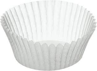 Kaiser 646275 Muffin World 200 Muffin-Papierbackförmchen, 7 cm, weiß