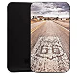 Siswoo A5 Chocolate Tasche Sleeve Hülle black - Route 66