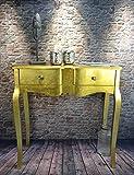 Livitat® Konsolentisch Anrichte Wandtisch Gold foliert barock pomp pompös Landhaus