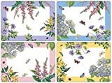 Pimpernel Platzsets Botanic Garden Terrasse–Set of 4(groß)