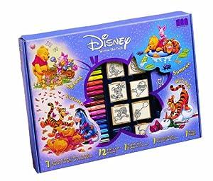 Multiprint Disney Winnie Pooh - Juego Creativo con 7 Sellos de Goma y Pinturas