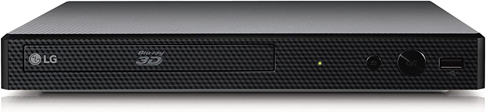 LG BP450 3D Blu-Ray Player (Smart TV, DLNA, Upscaler 1080p, LAN, USB) Schwarz