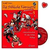 Die fröhliche Klarinette 1 - Klarinettenschule für den frühen Anfang (Überarbeitete Neuauflage)/Lehrbuch mit CD und bunter herzförmiger Notenklammer/ED 21501-50/97837957476