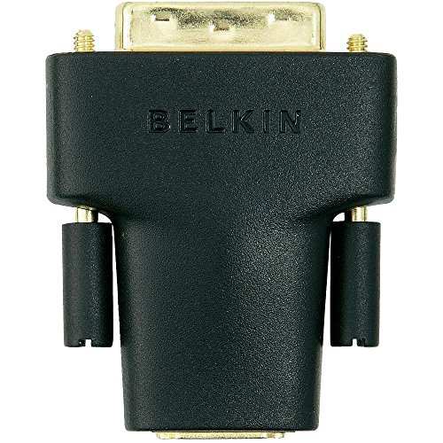 Belkin HDMI/DVI Adapter mit Goldkontakten, schwarz