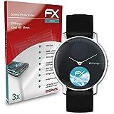 atFoliX Protecteur d'écran Compatible avec Withings Steel HR 36mm Film Protecteur, Ultra Clair et Flexible FX Film Protection