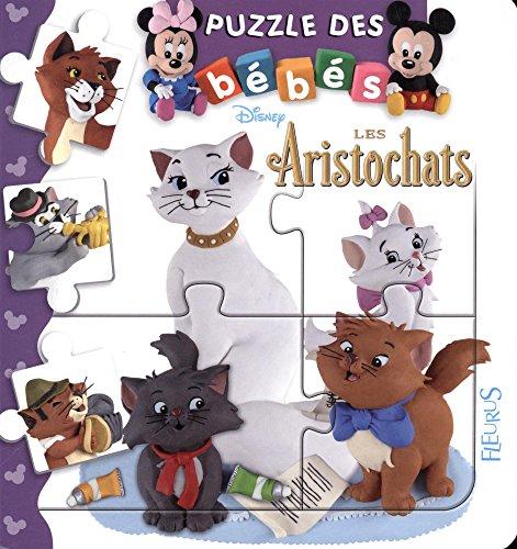 Bébé puzzle Disney - Les aristochats par Emilie Beaumont;Nathalie Bélineau