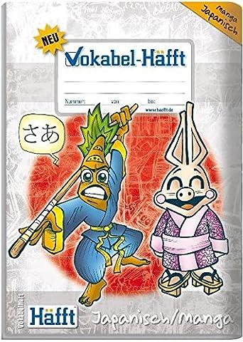 Häfft Vokabelheft A5 Japanisch / Manga (Mango Brot)