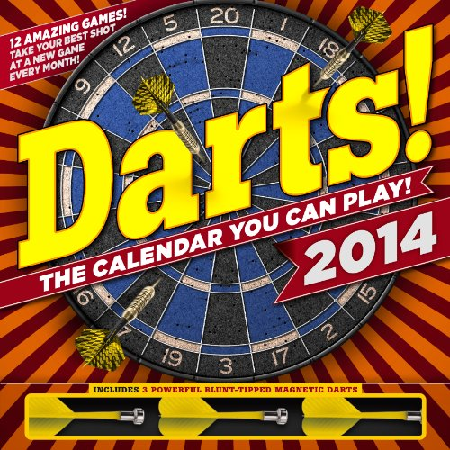 Darts! Calendar [With 3 Darts]