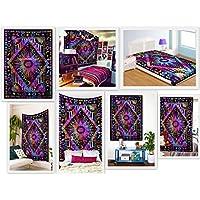Neu Galaxy Moon Tapisserie Wandbehang Dekor Hippie werfen böhmischen Tagesdecke
