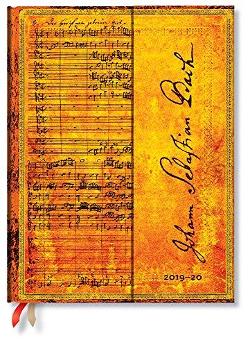 Paperblanks 18-Monats-Planer & Kalender | Juli 2019 - Dezember 2020 | Bach, Kantate BWV 112 | Woche für Woche (vertikal) | Ultra (230 x 180 mm)