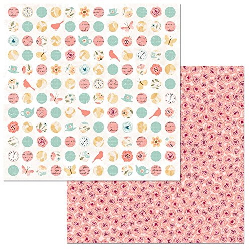 American Crafts Early Bird Double-Sided Cardstock 12