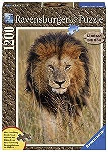 Ravensburger - Wooden Puzzle, diseño león, 1200 piezas (19914)