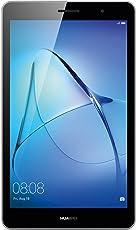 Huawei MediaPad T3 8 Wifi Tablet-PC (20,3 cm, 8,0 Zoll, Hochwertiges Metallgehäuse, Qualcomm Quad-Core Prozessor, 2 GB RAM, 16 GB interner Speicher, Android 7.0, EMUI 5.1) Grau