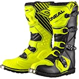 0329-510 - Oneal Rider EU Motocross Boots 43 Neon Yellow (UK 9)