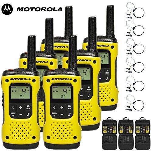10km Motorola TKLR T92H2O Floating Radio zwei-Wege Walkie Talkie Reise Paket mit Comtechlogic cm-215th PTT/VOX Mikrofone Hals Ptt-amp