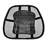 LORDOSENSTÜTZE einstellbare Krümmung Rückenstütze Lendenstütze Rückenkissen für Autositz oder Bürostuhl