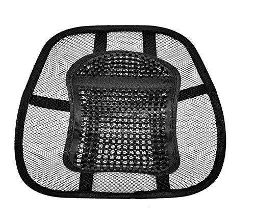 Preisvergleich Produktbild LORDOSENSTÜTZE Rückenstütze Rückenkissen für Autositz oder Bürostuhl
