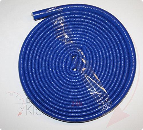 35/6 Blau 10m Rolle - 0,65Euro/m - Rohrisolierung Isolierschlauch PE-Schaum Isolierung Rohr Mehrschichtverbundrohr