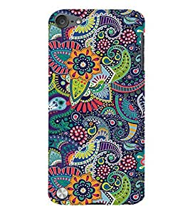 FIOBS multiple miraculous symmetric patterns Designer Back Case Cover for Apple iPod Touch 5 :: Apple iPod 5 (5th Generation)