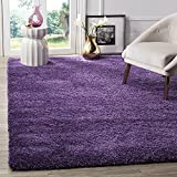 BRAVICH RugMasters Purple Lila Medium Rug 5cm Thick Shag Pile Soft Shaggy Area Rugs Modern Carpet Living Room Bedroom Mats 80x150cm (2