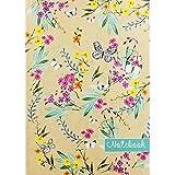 A4 Butterfly Plain Notebook - Case Bound